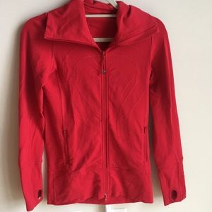 Lululemon zip up - size 4